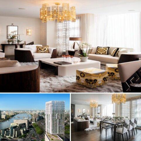 3 bedroom apartment for sale - at Damac Tower,  71 Bondway, Parry St SW8