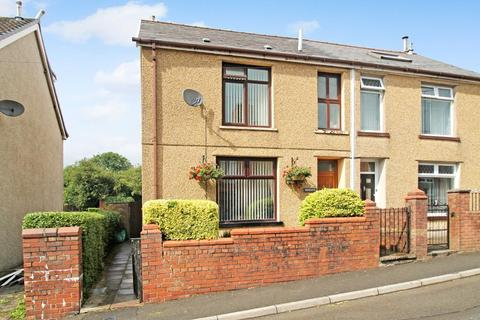 3 bedroom semi-detached house for sale - Mayfield Terrace, Beaufort, Ebbw Vale, Blaenau Gwent, NP23 5JR