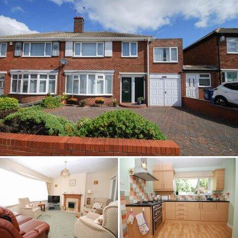 4 bedroom semi-detached house for sale - Thropton Crescent, Gosforth