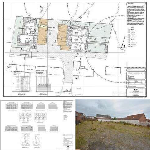 Land for sale - Land To Rear Of 160, West Avenue, Westerhope.