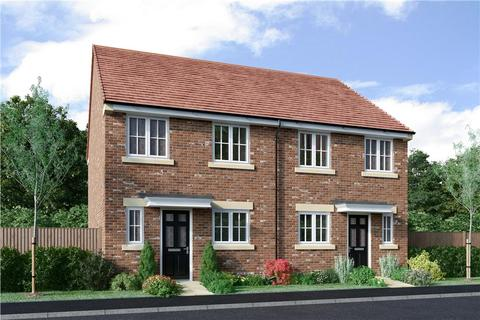 3 bedroom semi-detached house for sale - Plot 53, The Hawthorne Alternative at Miller Homes at Meadow Hill, Hexham Road, Throckley NE15