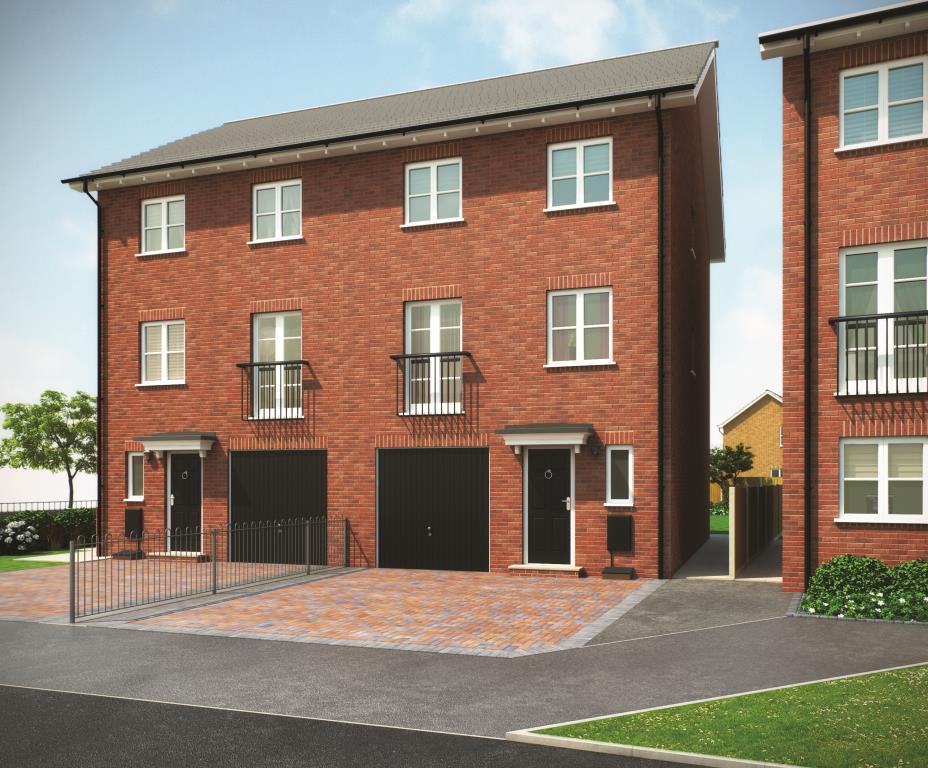 4 Bedrooms Semi Detached House for sale in THE WALDEN, Navigation Point, Cinder Lane, Castleford, West Yorkshire