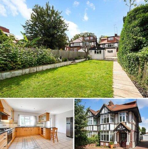4 bedroom semi-detached house for sale - Brunswick Road, London, W5