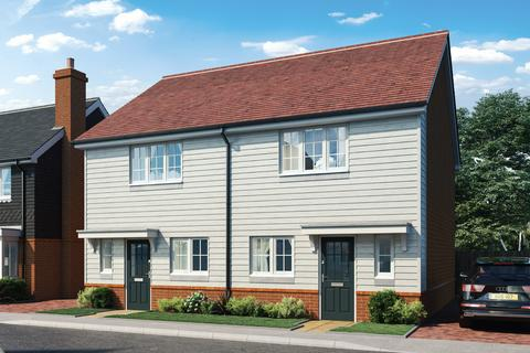 2 bedroom semi-detached house for sale - Plot 250, The Pipit at Nightingale Rise, Bells Lane, Hoo St Werburgh ME3