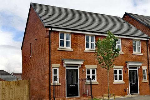 2 bedroom semi-detached house for sale - Plot 17, Beckford at Miller Homes @ Myton Green, Europa Way, Warwick CV34