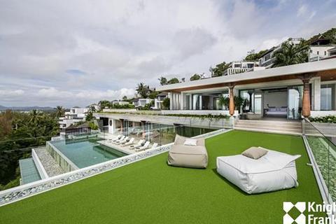 11 bedroom villa - Surin beach, Phuket - Full panoramic sea view, 2500 sq.m