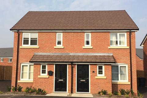 2 bedroom terraced house for sale - Plot 17, The Alnwick at Bannerbrook Park, Jasper Close  CV4