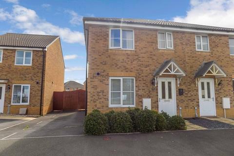 3 bedroom semi-detached house for sale - Heol Tredwr, Waterton, Bridgend. CF31 3AJ