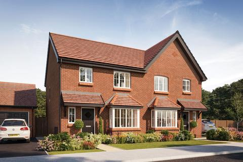 3 bedroom semi-detached house for sale - Plot 233, The Chandler at Wellfield Rise, Wellfield Road, Wingate TS28
