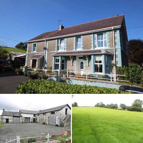 4 bedroom property with land for sale - Overlooking Teifi Valley, Llanybydder