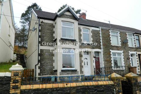 3 bedroom end of terrace house for sale - Farm Road, Pontlottyn, Caerphilly County. CF81 9QG