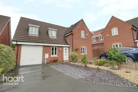 3 bedroom detached house for sale - Crediton Close, Coventry