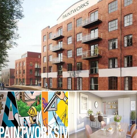 2 bedroom apartment for sale - Apartment 2 The Piazza, Paintworks Phase IV, Bristol, BS4