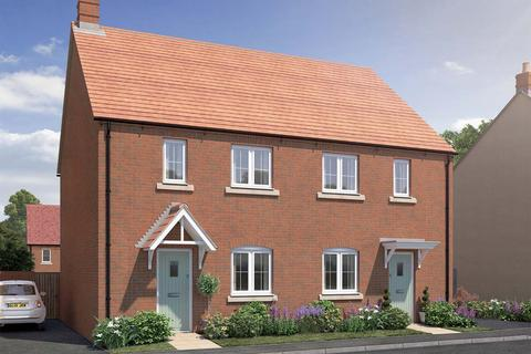 3 bedroom terraced house for sale - Plot 92A, The Sycamore at Hawkswood, Pioneer Way, Kingsmere, Bicester, Oxfordshire OX26