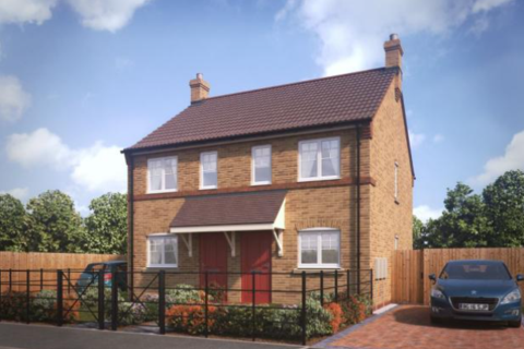 2 bedroom semi-detached house for sale - Plot 134, The Buttermere at Kings Manor, Kings Manor Hoplands Road, Coningsby, Lincolnshire LN4