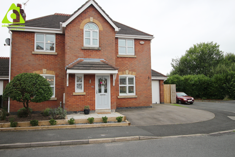 4 bedroom detached house for sale - Bristle Hall Way, Westhoughton, BL5 3QA