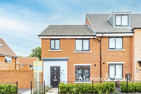 3 bedroom end of terrace house for sale - Mallard Way, Sprowston