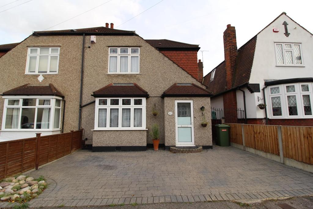 3 Bedrooms Semi Detached House for sale in Aldborough Road, Upminster, Essex, RM14