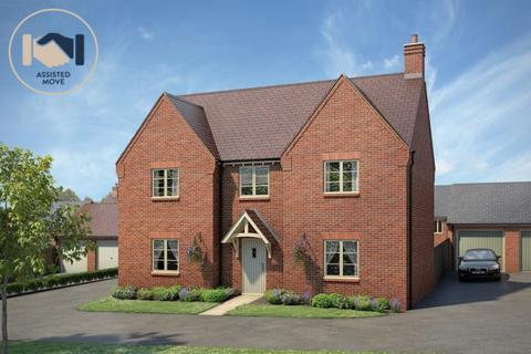 5 bedroom detached house for sale - Plot 33, The Watermead at Meadow View Fields, Meadow View Fields, Boughton Road NN3