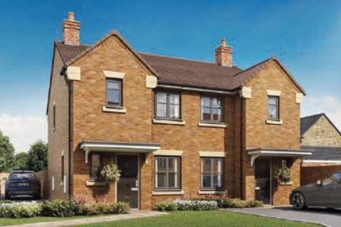 3 bedroom semi-detached house for sale - Plot 39 , The Pennymore at Eleanor Gardens, Headlands, Navenby LN5