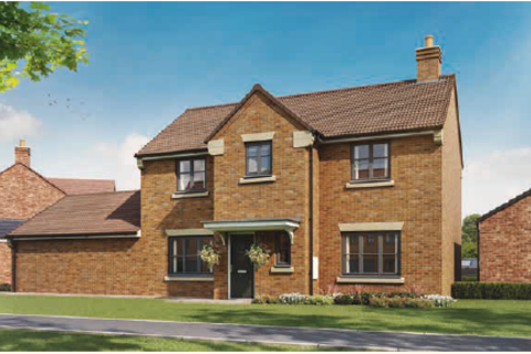 4 bedroom detached house for sale - Plot 43, The Windsor at Eleanor Gardens, The Headlands, Navenby, Lincolnshire LN5