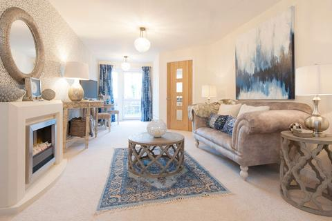 1 bedroom retirement property for sale - TypicalOneBedroomApartment-2519, at Kingfisher Court Trinity Business Centre                 South Street TA1