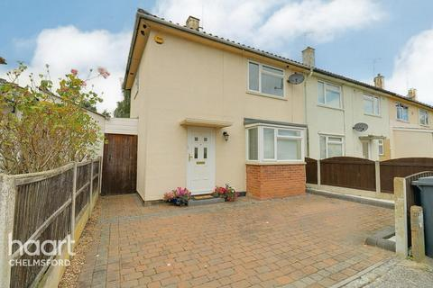 2 bedroom end of terrace house for sale - Stansted Close, Chelmsford