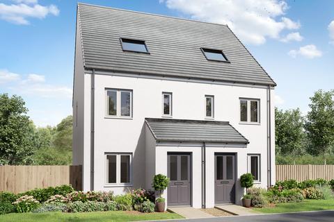 3 bedroom terraced house for sale - Plot 581, The Braunton at Saltram Meadow, Charlbury Drive, Plymstock PL9