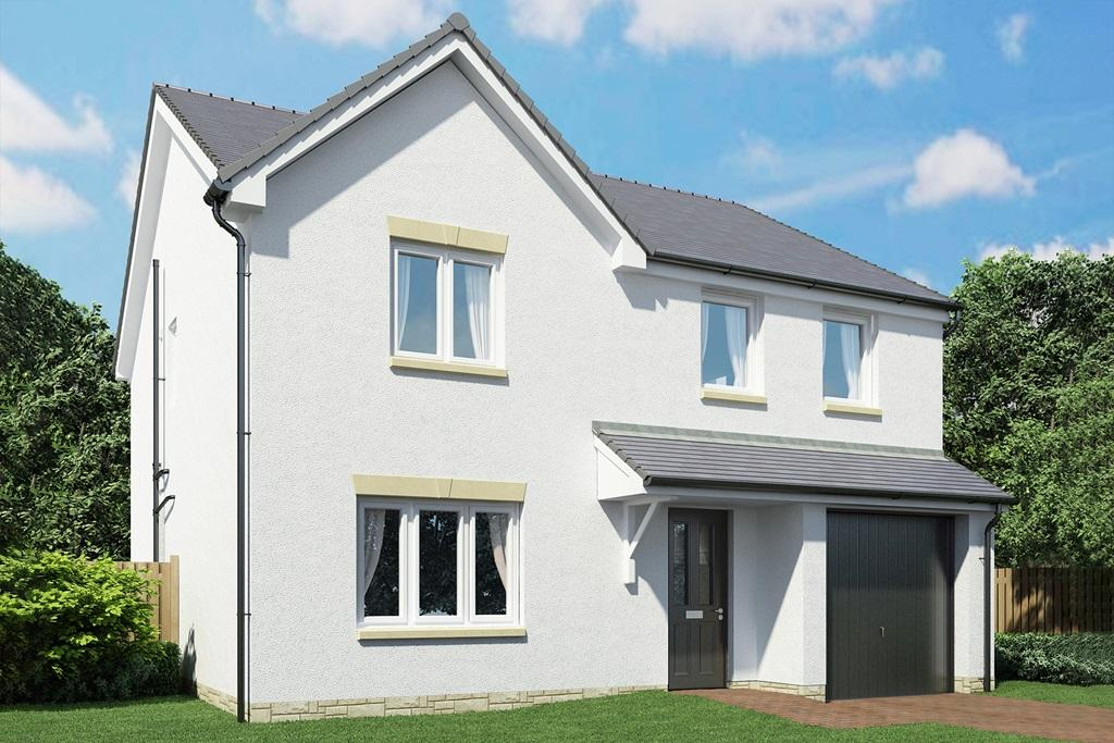 An example of a 4 bed Geddes home