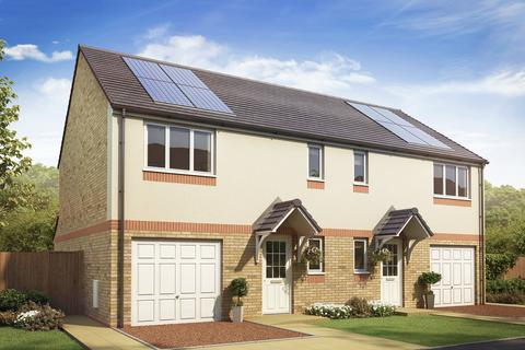 3 bedroom semi-detached house for sale - Plot 99, The Newton at Annick Grange, Crompton Way, Newmoor KA12