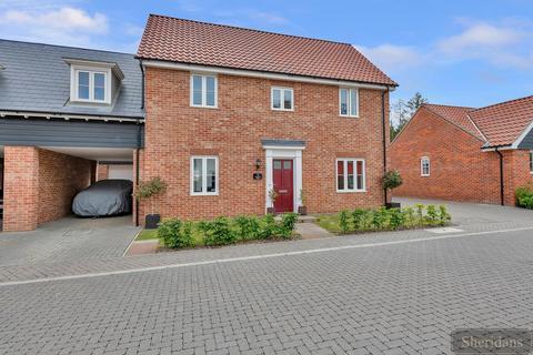 4 bedroom link detached house for sale - Pamment Close, Tostock
