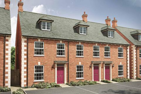 3 bedroom end of terrace house for sale - Plot 71, 72, The Thornton GE at Sanders Fields, Northampton Road NN10