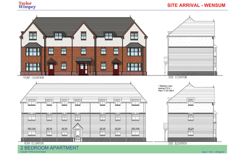 2 bedroom apartment for sale - Plot 26, Wensum at Healthfield Farm, Pedley Drive, Wilmslow, Cheshire SK9