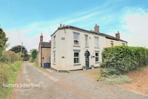 2 bedroom end of terrace house for sale - Fords Lane, Mow Cop, ST7 4NG