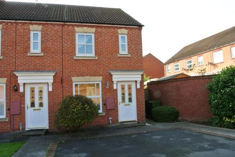 2 bedroom end of terrace house to rent - Price Close West, Chase Meadow, Warwick