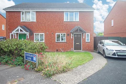 2 bedroom semi-detached house for sale - Chatillon Close, Heathcote, Warwick