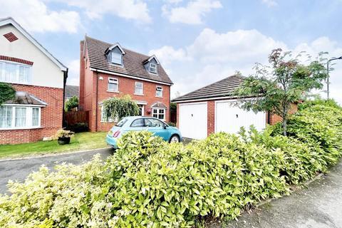 5 bedroom detached house for sale - Wake Way, Grange Park, Northampton, NN4