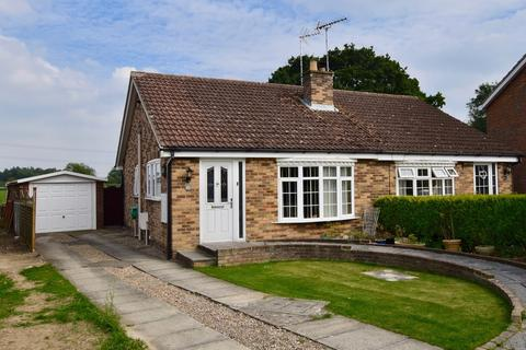 2 bedroom semi-detached bungalow for sale - Willow Park Road, Wilberfoss