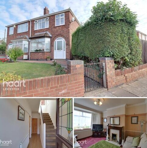 3 bedroom semi-detached house for sale - Avebury Avenue, Leicester
