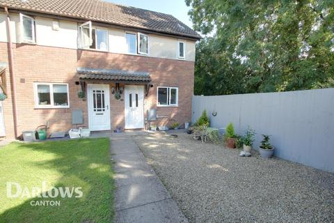 2 bedroom end of terrace house for sale - Heol Draenen Wen, Cardiff