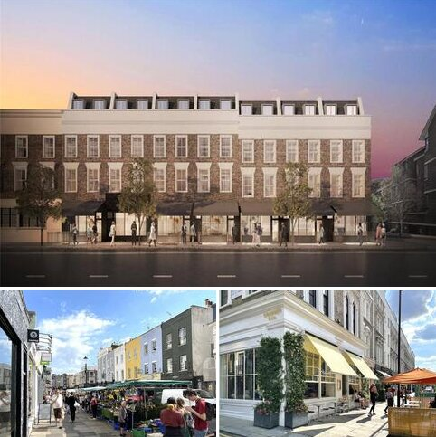 Retail property (high street) to rent - Westbourne Park Road, Notting Hill, London, W11