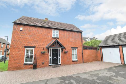 3 bedroom detached house for sale - Launce Grove, Heathcote, Warwick