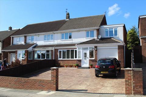 4 bedroom semi-detached house for sale - CHARTER DRIVE, EAST HERRINGTON, Sunderland South, SR3 3PG