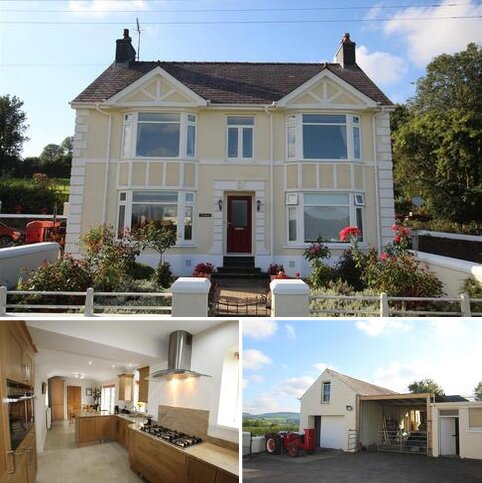 4 bedroom property with land for sale - Overlooking the Teifi Valley, Llanybydder