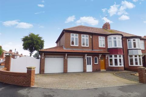 4 bedroom semi-detached house for sale - Holystone Avenue, Whitley Bay