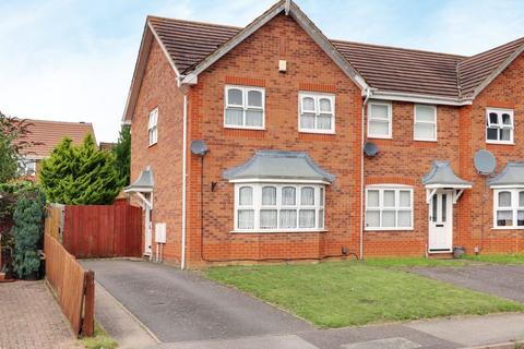3 bedroom end of terrace house for sale - Skinner Avenue, Northampton NN5 4AG