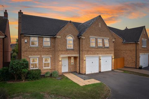 5 bedroom detached house for sale - Billesdon Close, Leicester, LE3
