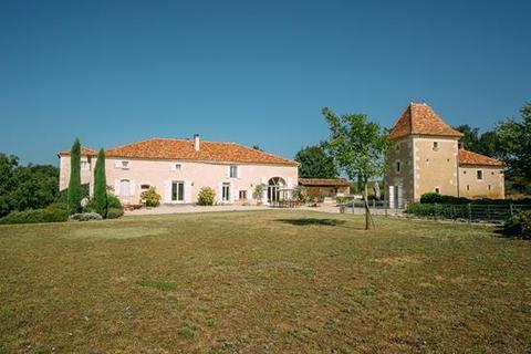 7 bedroom farm house - 32410 Castera Verduzan, Gers, Midi Pyrenees, France