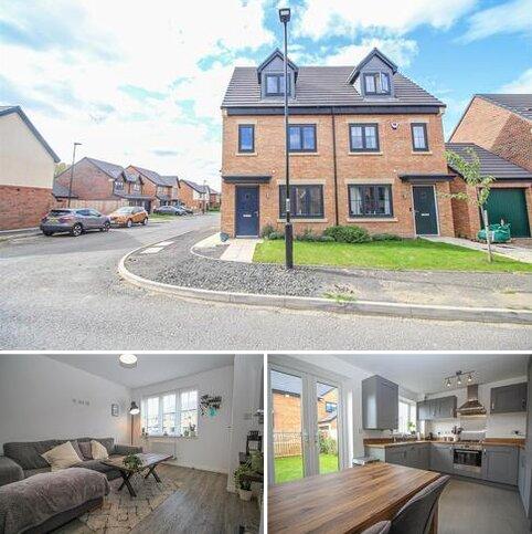 3 bedroom semi-detached house for sale - Dataller Drive, Hazlerigg, Newcastle Upon Tyne