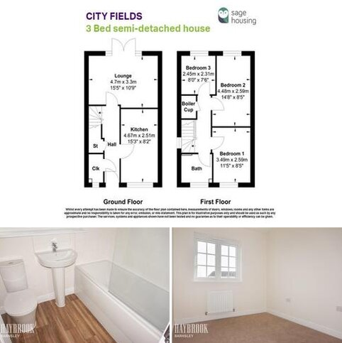 3 bedroom semi-detached house for sale - 4 Bolton Mews, Wakefield